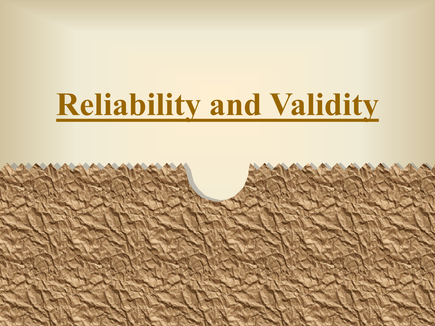 reliability and validity in social research