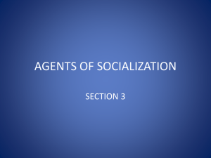 agents of socialization - coachclendenin
