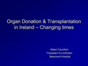 Getting a Kidney Transplant