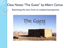 the guest albert camus characters