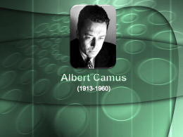 Albert Camus - WordPress.com