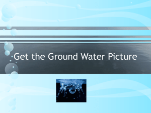 Get the Ground Water Picture power point