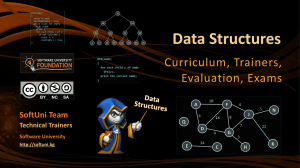 Data Structures - Course Introduction
