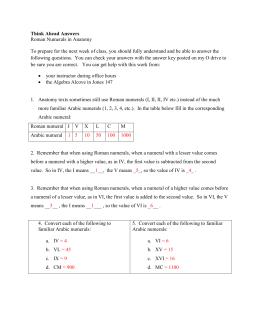 Roman numerals cheat sheet ibovnathandedecker cheat sheet roman numerals ibookread PDF