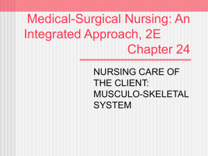 Medical-Surgical Nursing: An Integrated Approach, 2E Chapter 24