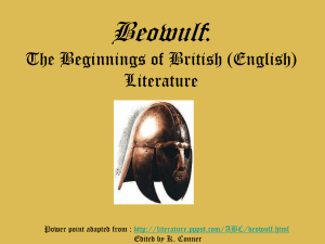 Beowulf as epic hero