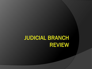 Judicial Branch Review