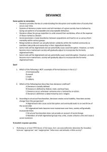 (pdf 143 KB)Deviance worksheet