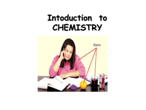 Chemistry - Fort Thomas Independent Schools