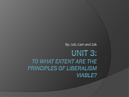 Unit 3: To what extent are the principles of - wolfesocial30-1