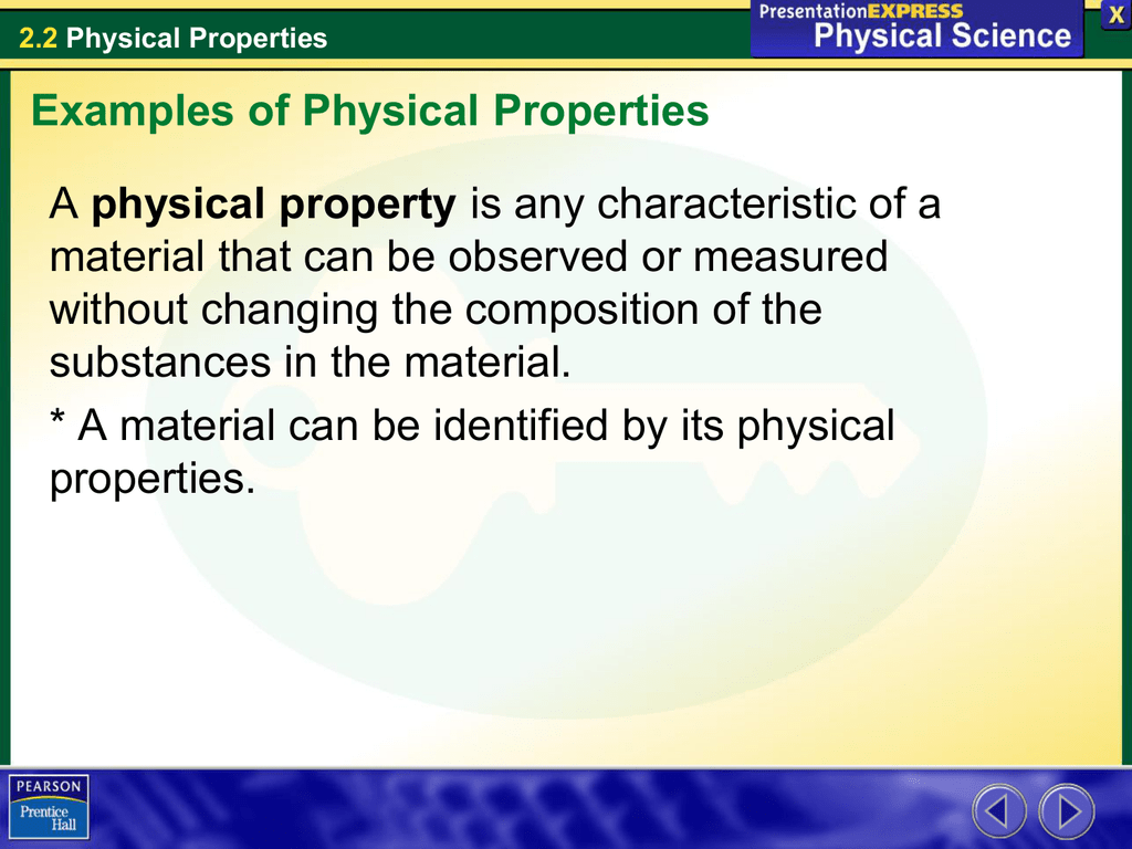 22 Physical Properties