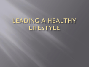 leading a healthy lifestyle - Waukee Community School District Blogs