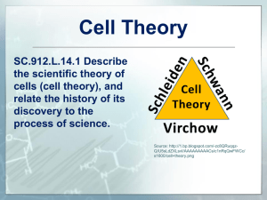 L.14.1 Cell Theory Module