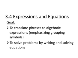3_4 writing equationsTROUT 11