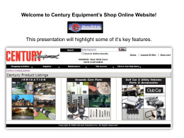 Using the Point-and-Click Shopping Guide