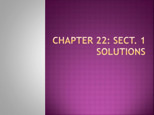 Chapter 22: Sect. 1 Solutions