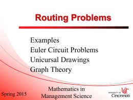 Routing Problems