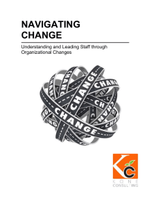 Understanding and Leading Staff through Organizational Changes