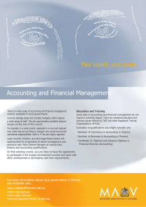 Accounting financial management career fact sheet (Word