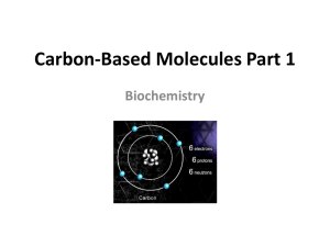 Carbon-Based Molecules