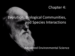 AES - chapter 4 - Advanced Environmental Science