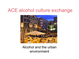 ACE alcohol culture exchange