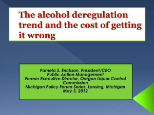 Deregulation, Cost of Getting it Wrong
