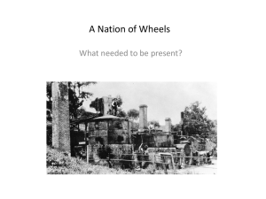 A Nation of Wheels