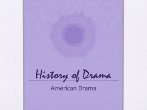 History of Drama - Lakewood City Schools
