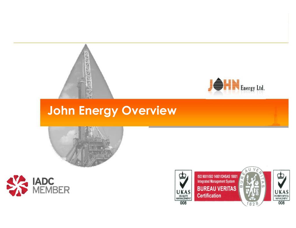 "John Energy Limited ""JEL"" - Hoqool Petroleum International"