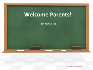 Welcome Parents! - Garnet Valley School District