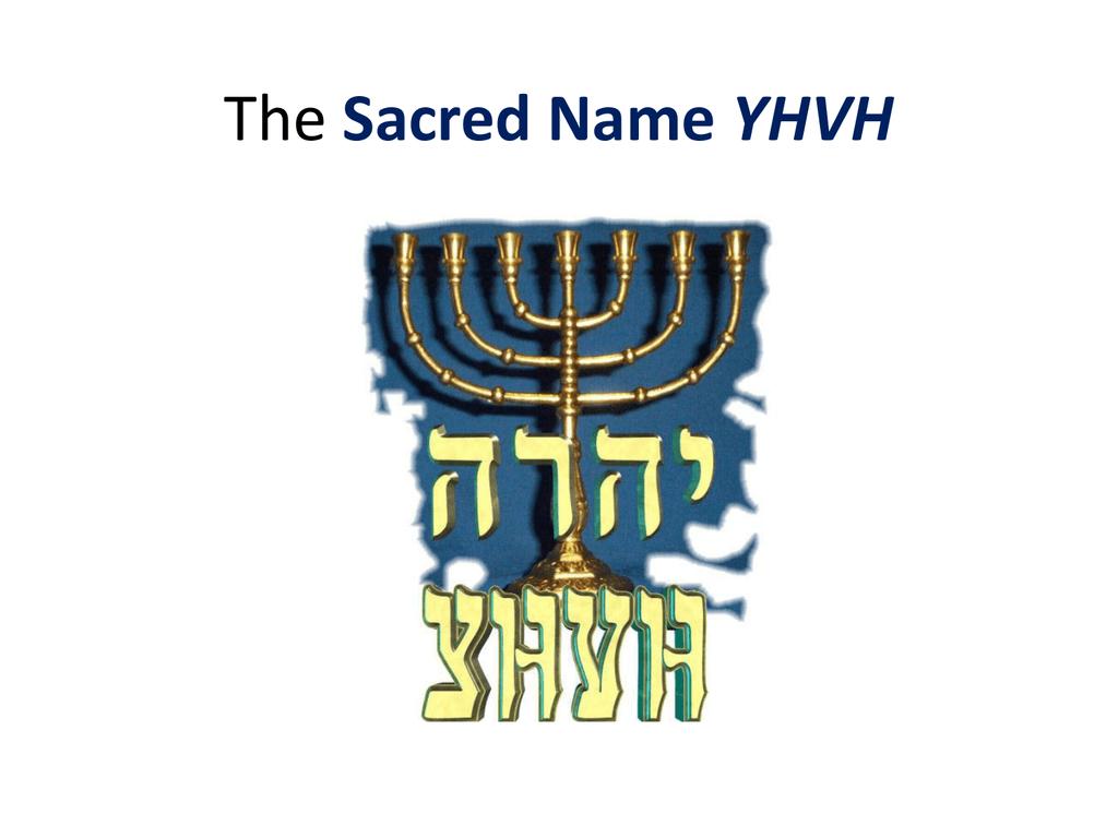 The Sacred Name
