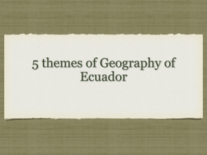 5 Themes of Geography Activity PowerPoint