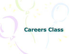 careers class - Bethel School District