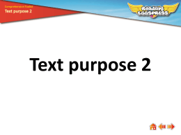 Text purpose 2