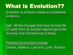 What is Evolution??