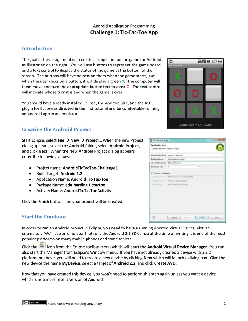 Challenge 1: Tic-Tac-Toe App