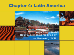 Chapter 4 - Latin America (3D)