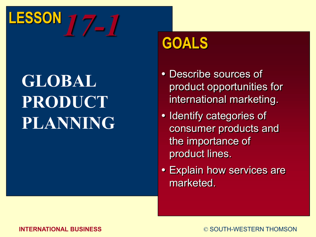 importance of product planning