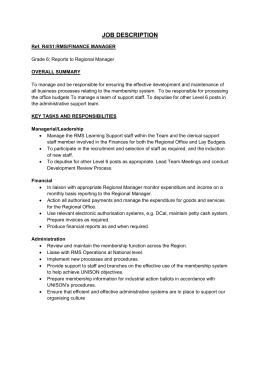 job description and person spec team support worker