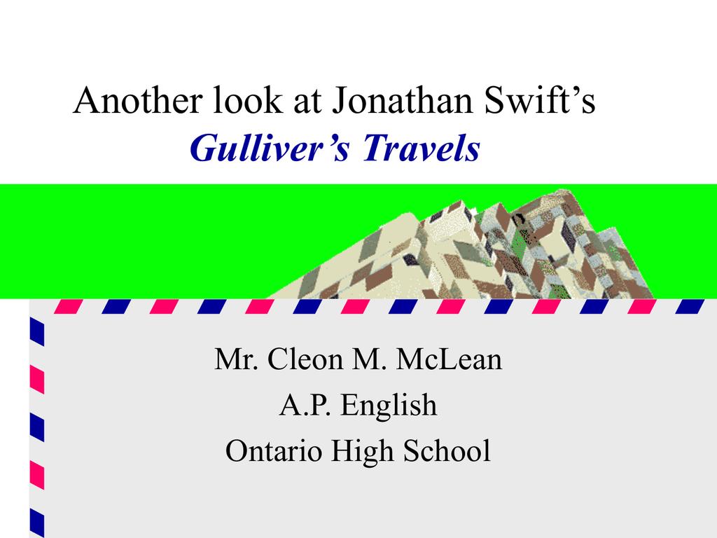 satire in gulliver travels part 2