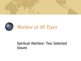 Warfare of all Types
