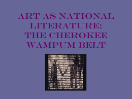 Art as National Literature - Western Carolina University