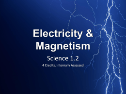 Electromagnetism Powerpoint
