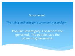 Presentation1- Types of Government