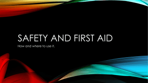 First aid - West Ada School District