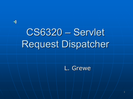 Request Dispatcher