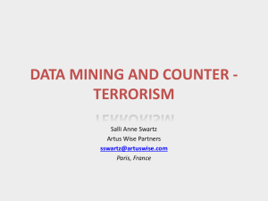 data mining and counter - terrorism