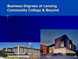 Majoring in Business Seminar