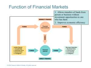 2. Ensuring the soundness of financial intermediaries